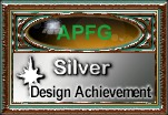 Silver award from APFG